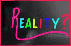Reality concept Stock Photos