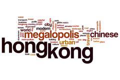 Hong Kong word cloud Piirros