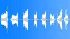 Paper rips, single sheet tears x 8 - Full - sound effect