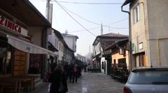 Streets of Sarajevo Stock Footage