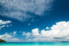 Stock Photo of Anse Lazio beach, Praslin island, Seychelles