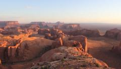 Hunt's Mesa, Monument Valley Stock Footage