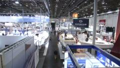Stock Video Footage of Sailing boats at Boot Dusseldorf