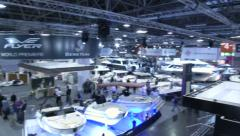 Stock Video Footage of Boats at Boot Dusseldorf