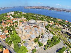 Stock Photo of Hagia Sophia is the famous historical building of the Istanbul. Now it's a mu
