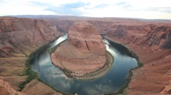 Horseshoe Bend, Grand Canyon Stock Footage
