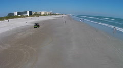 Cocoa Beach Aerial footage Cocoa Beach, Florida Stock Footage