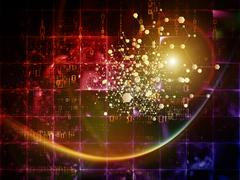 Particle Technologies Stock Illustration