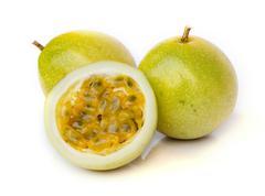 Ripe passion fruit - stock photo