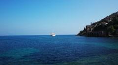 Panoramic View At Alanya Bay Resort Stock Footage