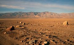 Beautiful Sunrise Death Valley National Park Stock Photos