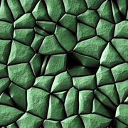 beautiful green seamless stone texture - stock illustration