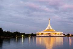 Suanluang Rama 9 public park - stock photo