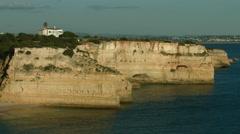 Praia da Marinha - Navy Beach Stock Footage