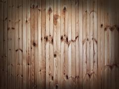 Vintage background of wooden slats - stock photo