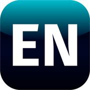 EN domain icon, england, blue, international Stock Illustration