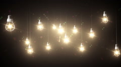 Lighting decor Stock Footage