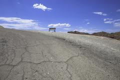 Arid Death Valley - stock photo