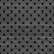 Metal grid seamless pattern - stock illustration