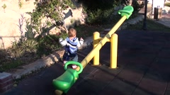 First funny steps- Stock Footage