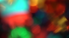 Colorful abstract effects  - footage Stock Footage