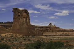 Utah Rock Formation - stock photo