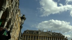 Brussels Grand Place - stock footage
