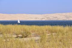Dune of Cap-Ferret in France Stock Photos