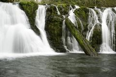 Beaver Creek Falls - stock photo