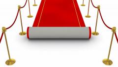 Red Carpet Stock Footage