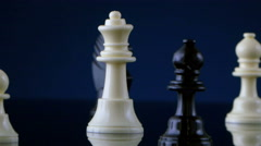 4K chess Queen Stock Footage