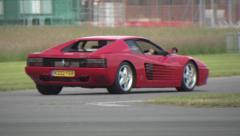 Ferrari Testarossa Stock Footage