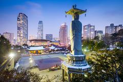 Gangnam Seoul Kuvituskuvat