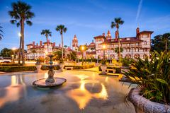 St. Augustine, Florida, USA - stock photo