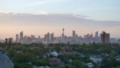Sydney city on th Horizon in 4K Stock Footage