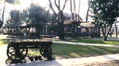 A nice way station in Masukiye, Izmit next to the Kartepe Mountain Stock Footage