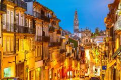 Porto, Portugal Old City View Stock Photos