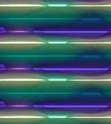 Glowing background, colorful blue, green, white and purple Stock Illustration