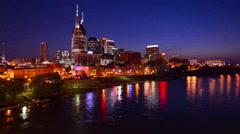 Nashville Skyline Stock Footage