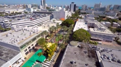 Lincoln road Miami Beach 2 4k Stock Footage