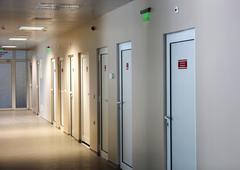 hospital - stock photo