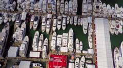 Miami International Boat Show 12 4k Stock Footage