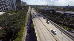 Aerial 4k Bal Harbour Stock Footage