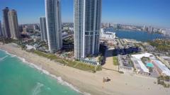 Sunny Isles Beach FL 4k Stock Footage