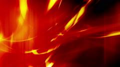Red and Orange Wisps Loop Stock Footage