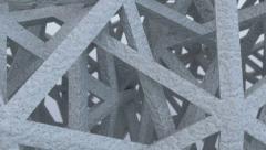 Futuristic stone construction.Seamless loop Stock Footage