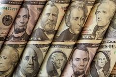 Stock Photo of Money or Portraits of Presidents
