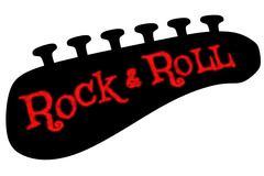 Rock & Roll - stock illustration