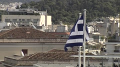 Athens Greece - stock footage