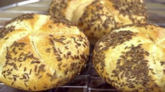 Caraway Rolls (seamless loopable) Stock Footage